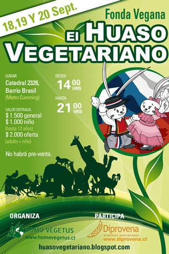 fonda El Huaso Vegano