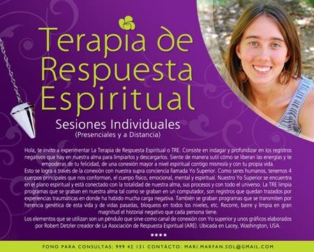 Terapia de Respuesta Espiritual TRE