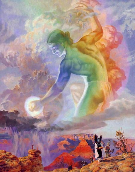 danza arco iris