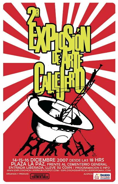 EXPLOSION DE ARTE CALLEJERO